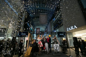The Yorkdale style makers got the confetti treatment on February 26th