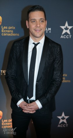 George Stroumboulopoulos, the new co-host of Hockey Night in Canada (HNIC)
