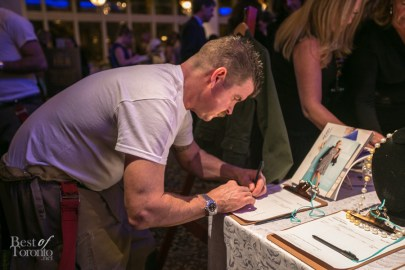 Even firefighters participate in silent auctions