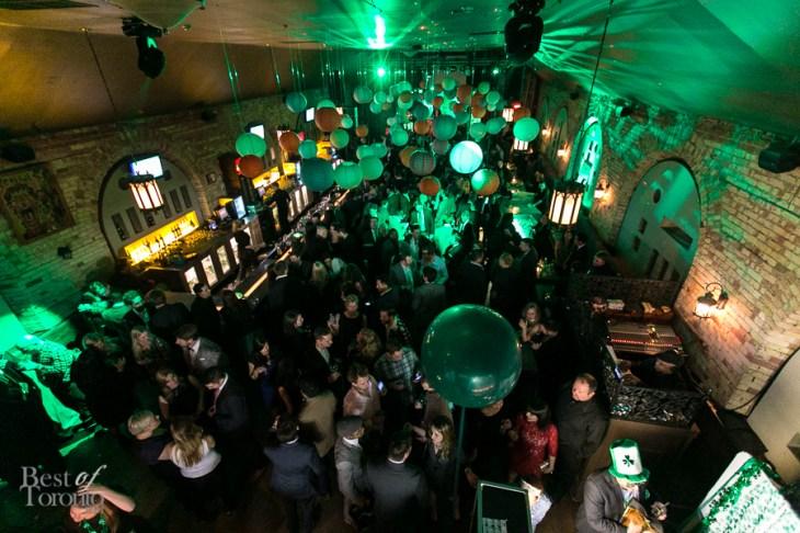 Full house at Revival Bar for Lucky Ball 2014