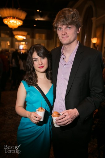 L: Katie Boland, actress