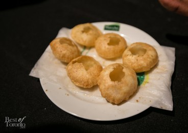 Indian-style appetizer