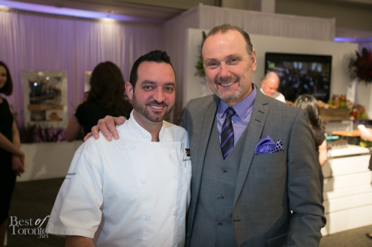 O&B Executive Chef and Michael Bonacini