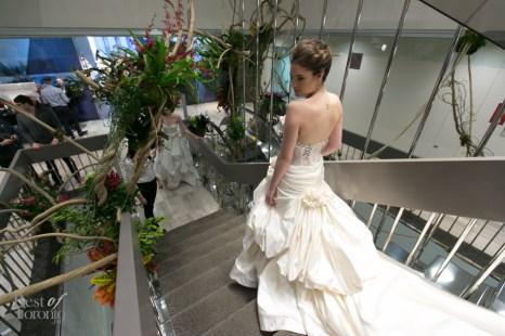 Wedding dress by Pnina Tornai