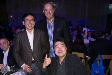 Jim Treliving (Dragon's Den) with guests