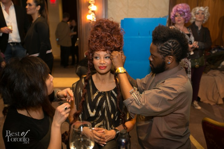 Backstage with Traci Melchor