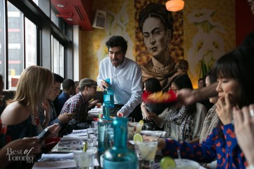 The comfortably casual dining experience at Milagro Cantina Mexicana