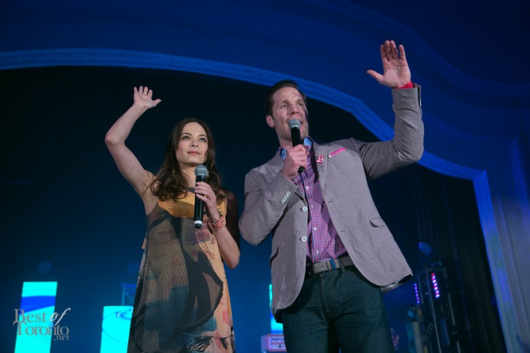 Kristin Kreuk, Paul Etherington showing they have been closely affected by breast cancer