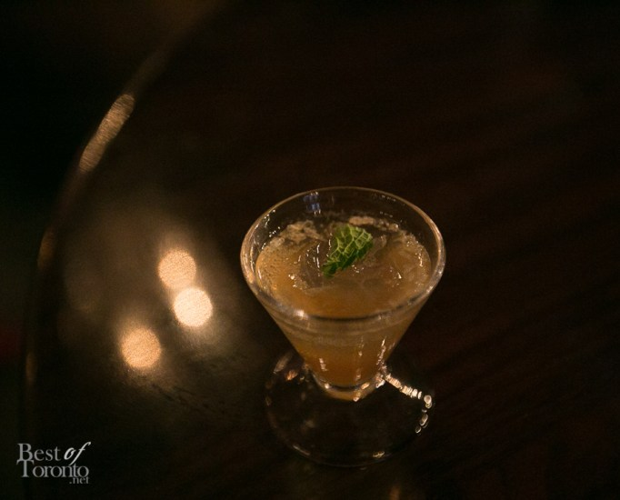 Mojito using demerara sugar which is a light brown sugar with hints of nuttiness, and chocolate notes