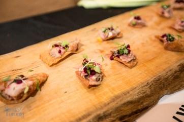 Braised boar, house pickles, smoked mustard by Alexandra Feswick (Drake Hotel)