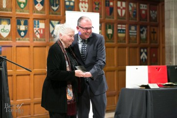L: Patricia Nell-Warren, a 2014 Bonham Centre Award recipient