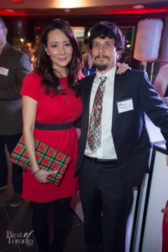 Ziya Tong (Discovery Channel) and Stephen Cornish (MSF Canada)
