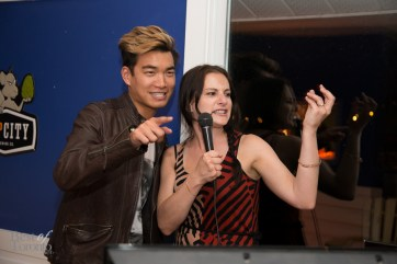 Karaoke with Alexander Liang and Valerie Stachurski