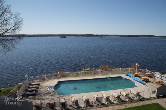 The view from my suite at Viamede Resort