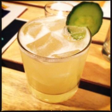 Los Blancos - tequila, vanilla, and pineapple juice