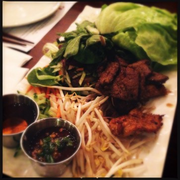 Banh Hoi Lettuce Wraps