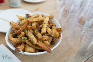"""""""Sexy Fries"""" with parmesan and truffle oil"""
