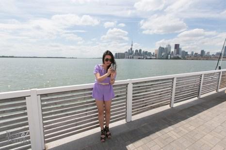 My friend Emily taking a selfie