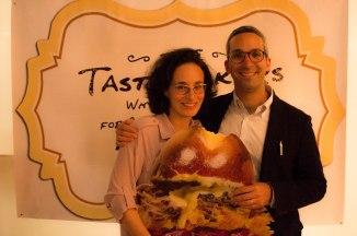 David Sax and wife