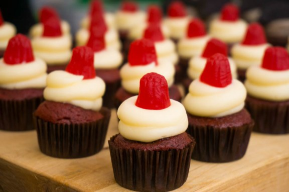 Mini cupcakes at Sullivan & Bleeker