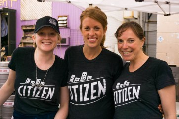 The ladies at Citizen Catering