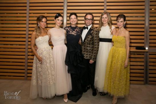 Vanessa Mulroney, Greta Hodgkinson, Karen Kain, __, Heather Ogden, Sonia Rodriguez