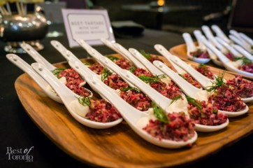 Beet Tartare with Goat Cheese Mousse