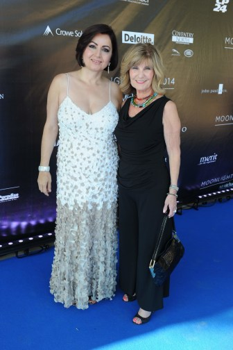 Past Gala Chair Tina Tehranchian and Judge Joyce Frustaglio | Photo by Tom Sandler