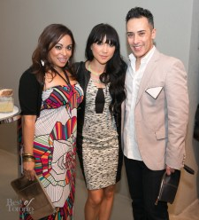 Natalie Deane, Lauren Toyota, Tarek | Photo: Nick Lee