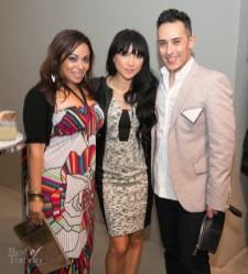 Natalie Deane, Lauren Toyota, Tarek | Photo: Nick Lee