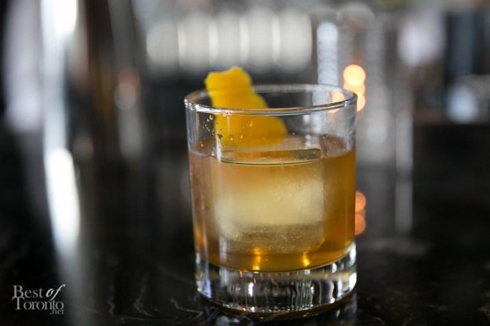 Kentucky's Finest Cocktail: Four Roses Bourbon, Montenegro Apricot, Mole Bitters (2oz)