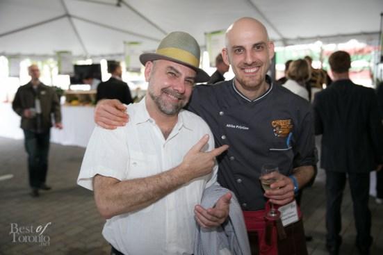 L: Chris MacDonald (Chef at Cava)
