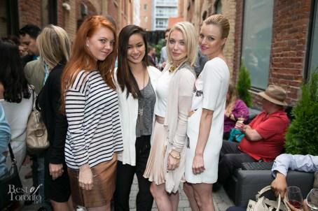 Charlotte Jenkins, Candice Chan, Courtney Jenkins, Megan Mane