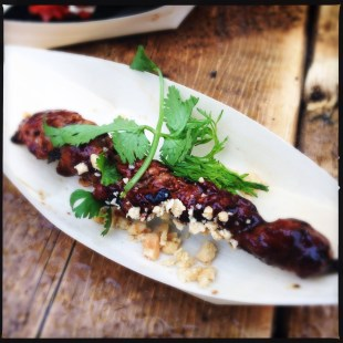 Momofuku Shoto's Grilled Pork Shoulder Skewer