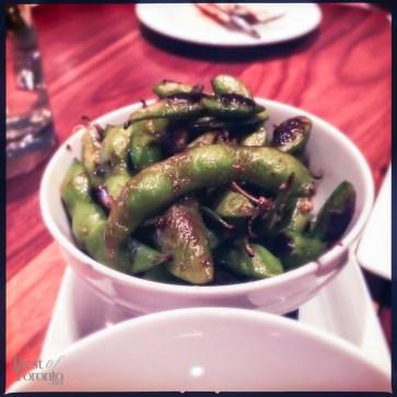 Wok Charred Edamame Beans