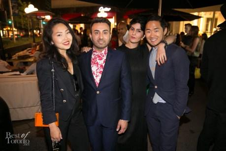Amarsana Gendunova, Sharad Mohan, Lance Chung