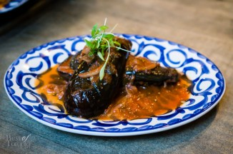 Baby eggplant, byaldi confit