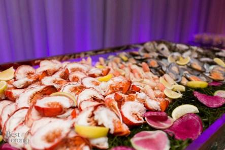 Raw seafood bar
