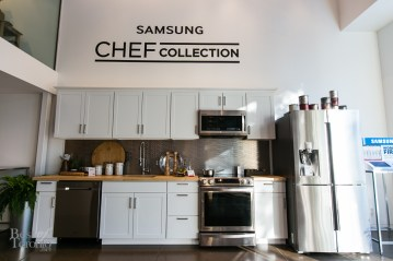 The Samsung Chef Collection kitchen