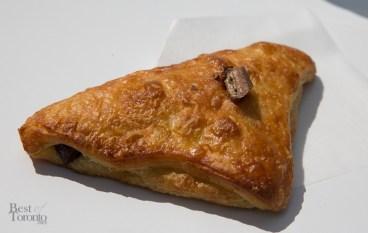 """Crowbar"" - Chocolate bar in a warm croissant - choice of Kit Kat, Caramilk, Reese's Pieces"