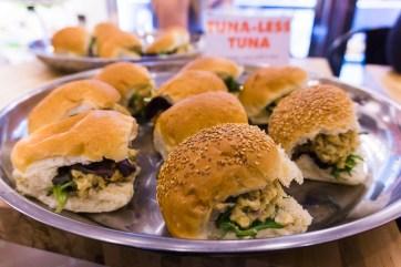 Tuna-less Tuna Sliders