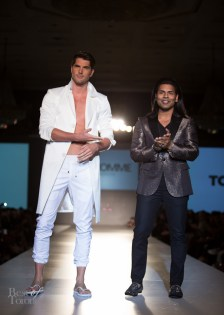 Nick Bateman (model), Hassan Dhalla (HD Homme)