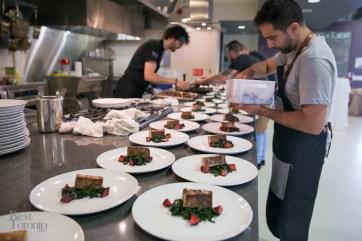 Preparing the Frost Village Pork & Mostartda