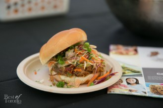 Perth County Pulled Pork Sandwich with Asian inspired slaw by President's Choice Cooking School