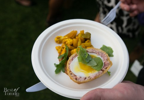 The Grove - Dutch scotch egg with English accompaniments | Photo: Nick Lee