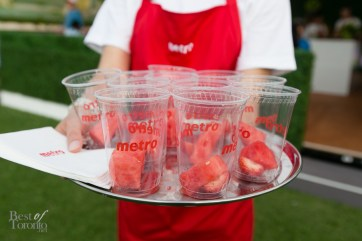 Watermelon samples from Metro | Photo: Nick Lee