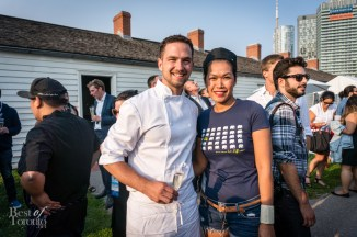 "Chef Carl Heinrich of Richmond Station and Chef Chantana ""Top"" Srisomphan of Khao San Road"