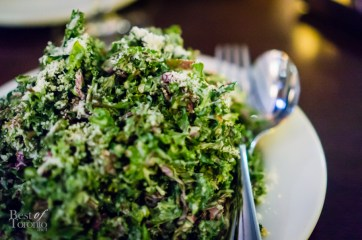 Kale salad with anchovy dressing, pecorino cheese | Photo: John Tan