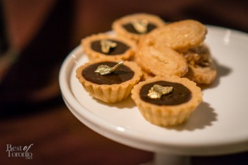Chocolate tarts, Bonnie Gordon College of Confectionary Arts | Photo: John Tan