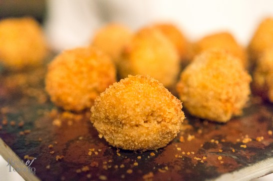 Mini jerk chicken arancini | Photo: John Tan